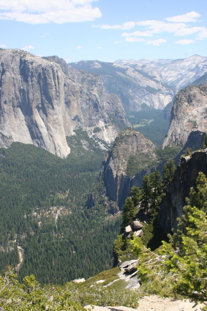 Stanford Point view of Bridalveil Falls